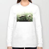 grass Long Sleeve T-shirts featuring grass by emegi