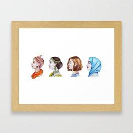 Women for the world Framed Art Print