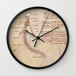 Anatomy of the Mermaid Wall Clock