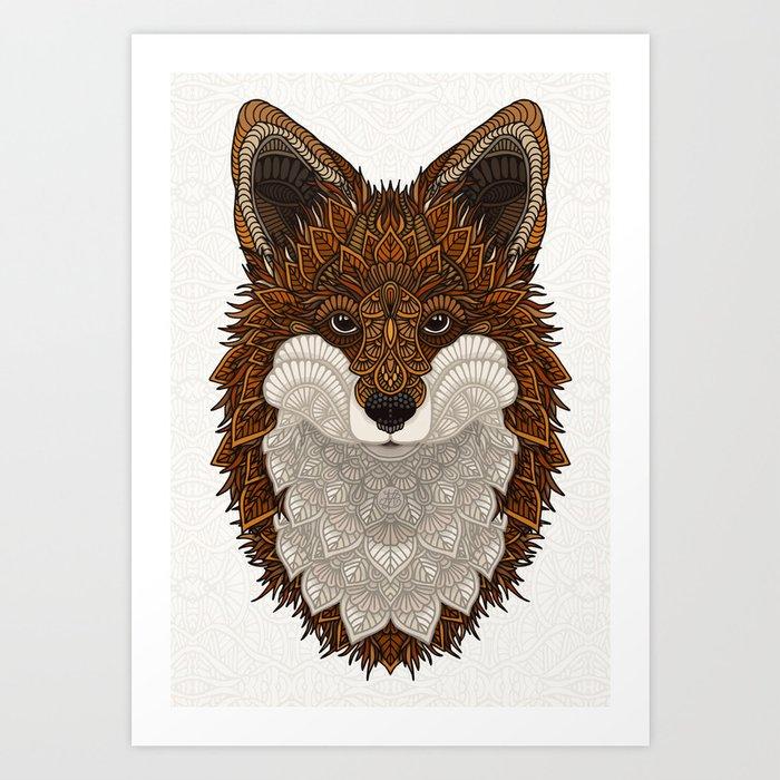 Red Fox Kunstdrucke