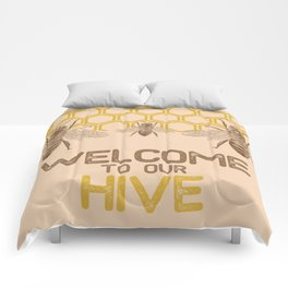 Welcome to Our Hive Comforters