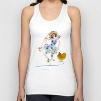 rooster Tank Tops featuring Rooster by Hyegallery