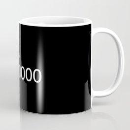 #000000 Coffee Mug