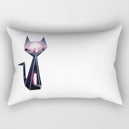 Origami Kitty (escapade) Rectangular Pillow