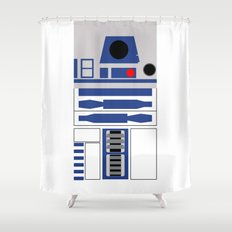 AstroMech Shower Curtain