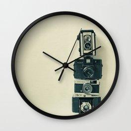 Camera Love Wall Clock