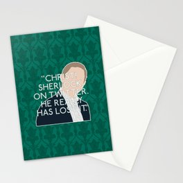 The Lying Detective - John Watson Stationery Cards