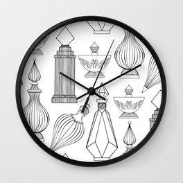Illustrated Scent I Wall Clock