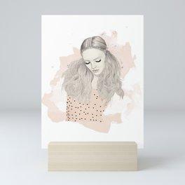 Pink Top Mini Art Print