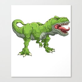 T Rex Tyrannosaurus Rex T-Rex & Dinosaurs Dino Canvas Print
