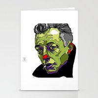 camus Stationery Cards featuring A. Camus by philip painter