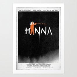 HANNA 1 Art Print
