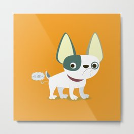 Frenchie Metal Print
