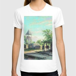 In The Caucasus 1874 By Lev Lagorio | Reproduction | Russian Romanticism Painter T-shirt