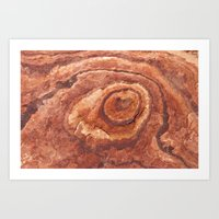 evil eye Art Prints featuring Evil Eye by Lost In Nature