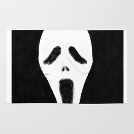 GHOSTFACE - Watercolor Rug