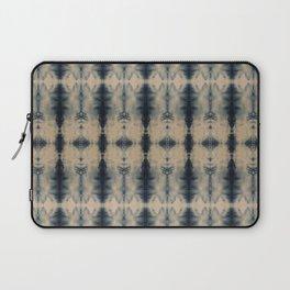 Shibori Linen Flax Laptop Sleeve