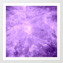 Lavender Orion Nebula Art Print