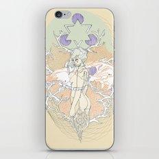 resin & blue iPhone & iPod Skin