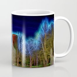 Digital Art Ironbridge Power Station Coffee Mug