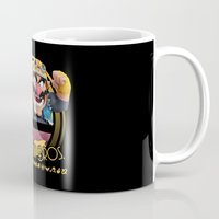super smash bros Mugs featuring Wario - Super Smash Bros. by Donkey Inferno