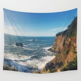 The Sunny Oregon Coast Wall Tapestry