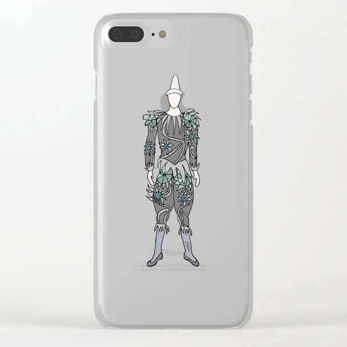 Heroes Fashion 5 Clear iPhone Case