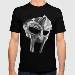 """DOOMSDAY"", MF DOOM MASK LOWPOLY T-shirt"