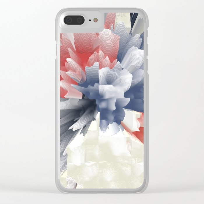 Abstract 151 Clear iPhone Case