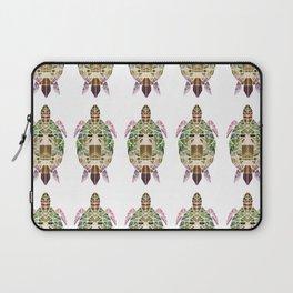 green mosaic turtle Laptop Sleeve
