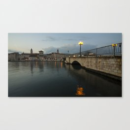 Trogir Twlight  Canvas Print
