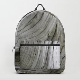 Tree Bark Detail in Japan - Organic Botanical Structures - Abstract Detail of Nature Wall Art Backpack