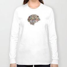 my brain looks different Long Sleeve T-shirt