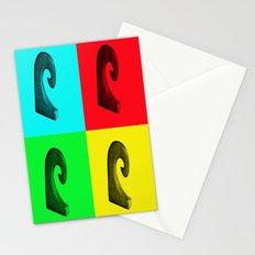 Pop Art Wave Stationery Cards