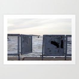 Open Gate Art Print
