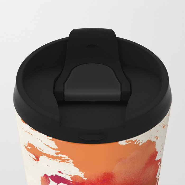 Vulpes vulpes Metal Travel Mug