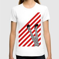 legs T-shirts featuring Legs by Dee Dubs