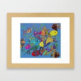 Beautiful Fish Framed Art Print