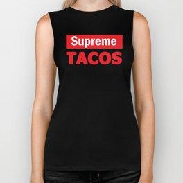 Supreme Tacos Biker Tank