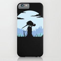 Grey Wolf Sif (Dark Souls) - in black Slim Case iPhone 6s