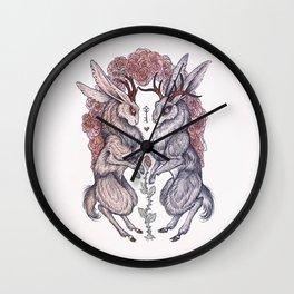 Rare Hearts Wall Clock