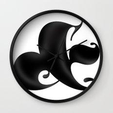 Bold Ampersand Wall Clock