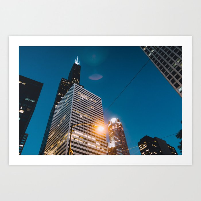 Chicago - Mecca of the Midwest III Art Print