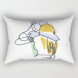 Fusion One Rectangular Pillow