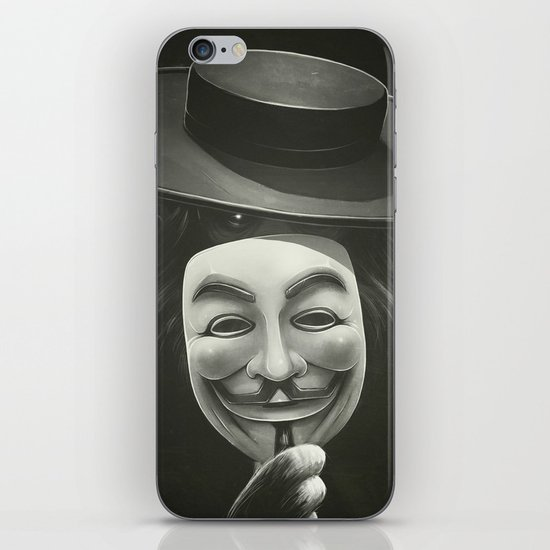 Anonymous II iPhone & iPod Skin