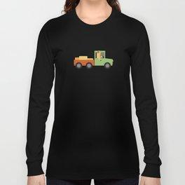 Horse on Truck Long Sleeve T-shirt