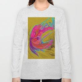 Metamorphosis with me-chartreuse Long Sleeve T-shirt