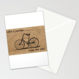 Life's A Journey Quote Stationery Cards