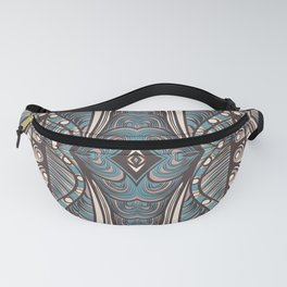 Art hand drawn print in zentagle style Fanny Pack