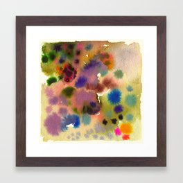 Remembering the summer in a rainy day and those colors II Framed Art Print